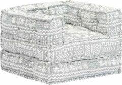 Merkloos / Sans marque Fauteuil Stof grijs (Incl FLEECE deken) / Loungestoel / Lounge stoel / Relax stoel / Chill stoel / Lounge Bankje / Lounge Fauteuil - Luxe Fauteuil