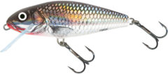 Salmo Perch Floating - Plug - Holo Grey Shiner - 8cm - Zilver