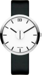 Zilveren Danish Design watches unisexhorloge Wink White Black IQ12Q1198