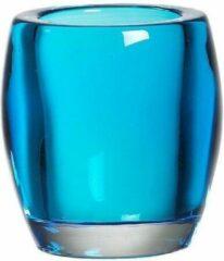 Blauwe Bolsius Waxinelichtjeshouder Houder voor theelicht 77/72 aqua