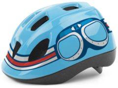 Blauwe Helm Bobike Pilot Shine Jongen blauw S Kind 8740300011