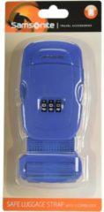 Travel Accessories Kofferband Samsonite indigo blue