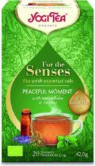 Yogi Tea For the Senses - Peaceful Moment - Voordeelverpakking 6 pakjes van 20 theezakjes