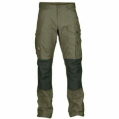Fjällräven - Vidda Pro - Trekkingbroeken maat 46 - Long - Fixed Length, olijfgroen/zwart