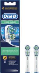 Oral-B Oral B Opzetborstels Dual Clean Eb 417-2 Voordeelverpakking