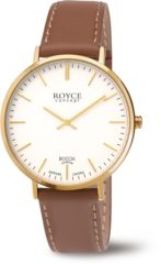 Boccia Titanium Boccia 3590-12 horloge dames en heren - bruin - titanium / doubl�
