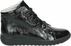 Waldlaeufer Waldlaufer 910701 H - Volwassenen VeterlaarzenHalf-hoge schoenen - Kleur: Zwart - Maat: 38.5