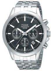 Zilveren Pulsar PT3045X1 horloge heren - zilver - edelstaal