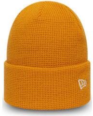 Oranje Muts New-Era Ne colour waffle knit