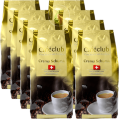 Caféclub Cafeclub Crema Schumli Koffiebonen 1 kg