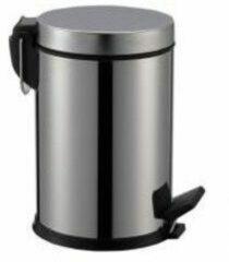 SaniGoods Crea vuilnisbak chroom 3 liter