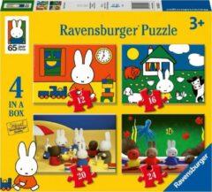 Ravensburger Nijntjes verjaardag 4in1box puzzel - 12+16+20+24 stukjes - kinderpuzzel