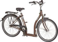 26 Zoll PFAU-TEC P1 braun Damen City Fahrrad mit extrem tiefem Einstieg 3 Gang