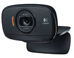 HD Webcam Logitech® C525, 1280 x 720 Pixel, Autofokus, 360§-Rotation, Universalhalterung, schwarz