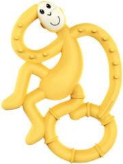 Matchstick Monkey Bijtspeeltje Met biocote – Geel
