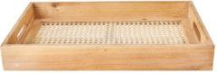Naturelkleurige Xenos Dienblad webbing - 46x32x6 cm