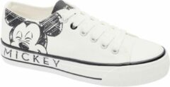 Mickey Mouse Dames Witte canvas sneaker - Maat 40