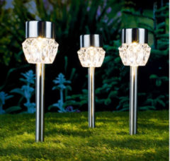 Huismerk Premium Solar Christal Lampen - 6,7 x 34,5cm