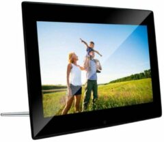 Zwarte Digitale fotolijst - Braun - DigiFrame 1220 - 12,1 - Braun Phototechn