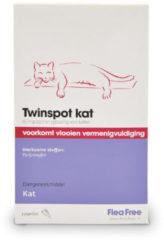 Exil Twinspot - Anti vlooienmiddel en tekenmiddel - Kat - 2 Pipetten