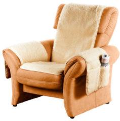 Scheerwollen meubelbeschermer K & N Schurwolle bruin