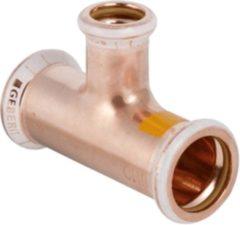 Geberit Mapress koper-gas T-stuk verlopend koper 28x15x28mm
