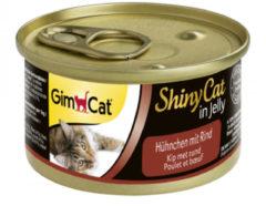 Gimcat Shinycat In Jelly 70 g - Kattenvoer - Kip&Rund