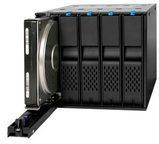 Icy Dock FlexCage MB975SP-B R1 - Gehäuse für Speicherlaufwerke - 3.5'' (8.9 cm) MB975SP-B R1
