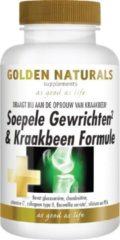 Golden Naturals Soepele Gewrichten & Kraakbeen Support (60 tabletten)