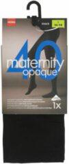 Hema zwangerschapspanty 40denier zwart zwart