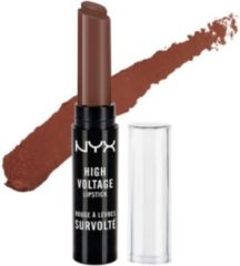 Bruine NYX Cosmetics NYX High Voltage Lipstick 2.5g - 12 Dirty Talk