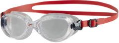 Rode Speedo Junior Futura Classic Goggle Zwembril Unisex - Red/Clear - Maat One Size