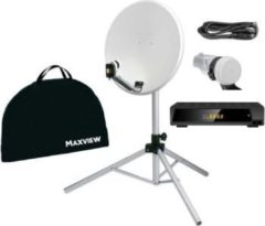 Maxview Portable Sat-Kit ?light? ,65 cm - mit Easy Find Digital LNB mit Digital Receiver 12/230V