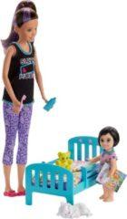 Mattel Barbie Skipper Babysitter Bedtijd Speelset - Barbiepop