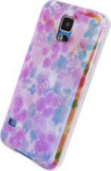 Gele Xccess Oil TPU Case Samsung Galaxy S5/S5 Plus/S5 Neo Yellow Flower