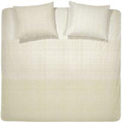 Gebroken-witte Damai Score - Dekbedovertrek - Tweepersoons - 200x200/220 cm + 2 kussenslopen 60x70 cm - Off white