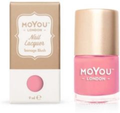 Mo You London MoYou London - Stempel Nagellak - Stamping - Nail Polish - Teenage Blush - Roze