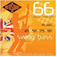 Rotosound 66S Swing Bass 66 basgitaarsnaren 40 - 90 short scale