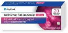 Sanias Diclofenac Kalium 12,5 mg 20 tabletten
