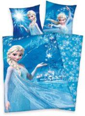 Kinderbettwäsche, Walt Disney, »Schneeflocken Eiskönigin«, mit Elsa der Eiskönigin