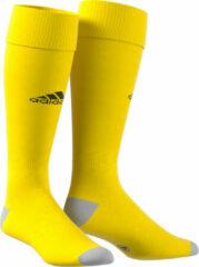 Gele Adidas Milano 16 Sportsokken - Maat 40/41 - Unisex - geel/zwart/grijs