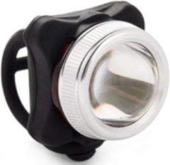 Falkx Voor-/achterlamp El-022af Led Lithium Batterij Zwart