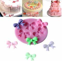 Roze Ardran & Tookar Fondant Strikjes Mal - Siliconen Strikje versiering vorm - Fondant / Marsepein / Chocolade / Zeep - Voor Bowtie decoratie van taart, cupcakes en cake