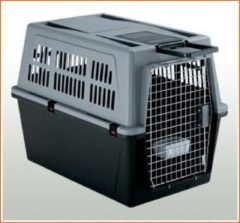 Ferplast Vervoersbox Atlas Pro Grijs - Hondentransportbox - 91x61x66.5 cm 60