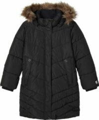 Zwarte NAME IT KIDSNKFMABECCA LONG PUFFER JACKETBlack122