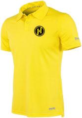 Gele Reece Hockey Polo Darwin - Hockeyshirt - Kinderen - Maat 140 - Geel