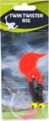 Rode Eurocatch Fishing Raven Twin Twister Rig 2 Haaks | Onderlijn