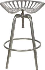 Zilveren Tuinstoel - Tractorstoel - zilver - Esschert Design
