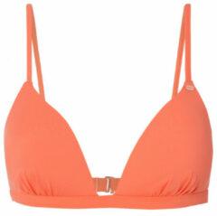 O'Neill - Women's Fiji Mix Top - Bikinitop maat 34 - Cup: B, oranje/rood
