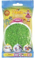 Hama beads Strijkkralen Hama - 1000 Stuks - Groen Neon